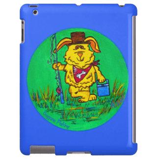 iPad Case - Dog Gone Fishing