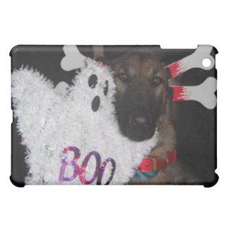 Ipad Case German Shepherd Halloween Boo