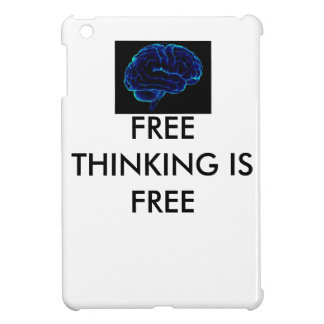 ipad case, ipad cover, free thinking, free thinker iPad mini cover