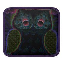 Ipad Case Moon Owl Design