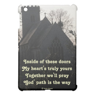 Ipad Case Ode To Pray By Ladee Basset