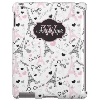 iPad Case | Paris | Eiffel Tower | Hearts