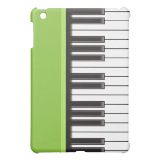 iPad Case - Piano Keys on Lime