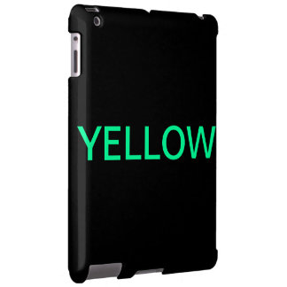 iPad-Case Playing with Colors black/Yellow