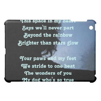 Ipad Case Poem Ode To Dogs By Ladee Basset
