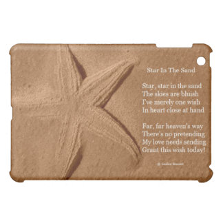 Ipad Case Poem Star In The Sand By Ladee Basset