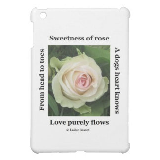 Ipad Case Poetic Rose By Ladee Basset