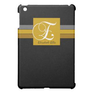 iPad Case Professional Monogram E Custom Name