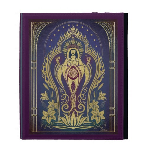 iPad Case - Sacred Mother by Cristina McAllister