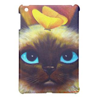 iPad Case Siamese Cat Painting Art