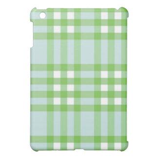 iPad Case - Solid Plaid - SeaCucumber