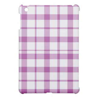 iPad Case - Solid Plaid - Tang