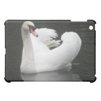 Ipad Case Swan Swimming