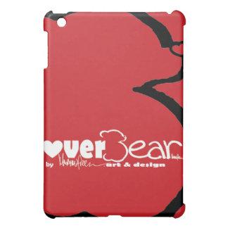 iPad case, swoosh red