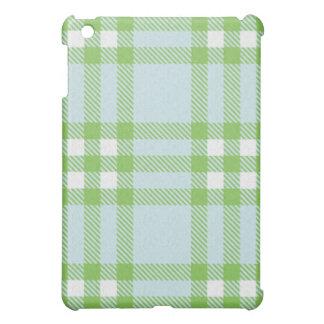iPad Case - Textured Plaid - SeaCucumber