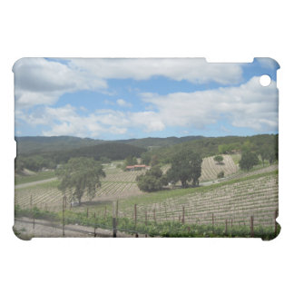 iPad Case: Wine Country at end of May iPad Mini Cases