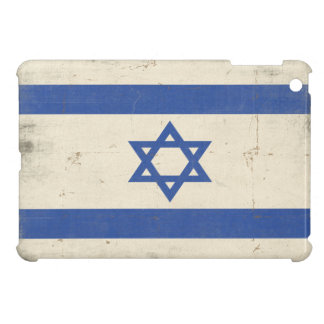 iPad Case with Cool Distressed Israel Flag