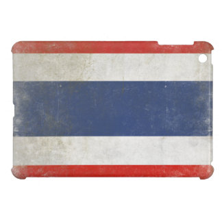 iPad Case with Distressed Thailand Flag