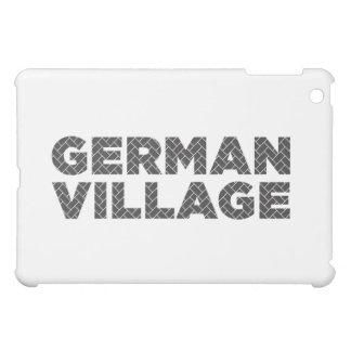 iPad Case with German Village bricks