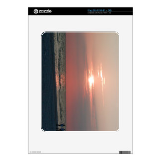 iPad case with photo of beautiful sunset Skin For iPad