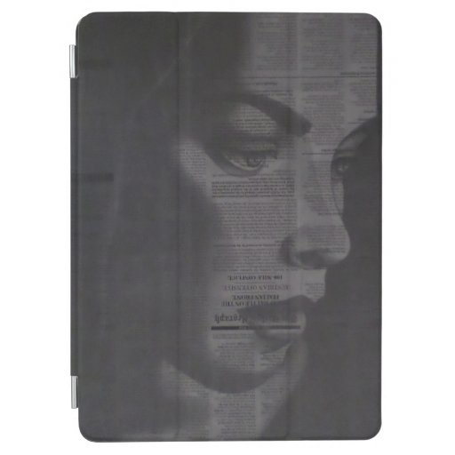 iPad case with unique drawing