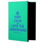 [Crown] keep calm and love the janoskians  iPad Cases
