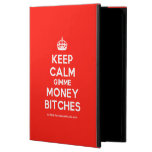 [Crown] keep calm gimme money bitches  iPad Cases