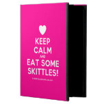 [Love heart] keep calm and eat some skittles!  iPad Cases