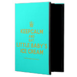 [Cupcake] keepcalm and eat little baby's ice cream  iPad Cases