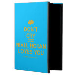 [Two hearts] don't cry coz niall horan loves you  iPad Cases