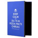[Skull crossed bones] keep calm and du-te-n pizda matii chiriac  iPad Cases