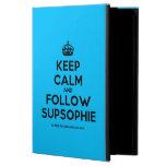[Crown] keep calm and follow supsophie  iPad Cases