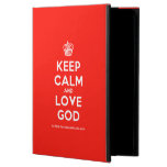 [Cupcake] keep calm and love god  iPad Cases