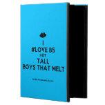 [Two hearts] i #love b5 hot tall boys that melt  iPad Cases