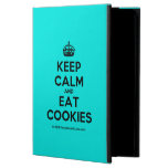 [Crown] keep calm and eat cookies  iPad Cases
