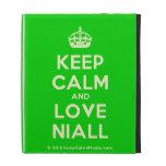 [Crown] keep calm and love niall  iPad Cases
