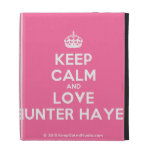 [Crown] keep calm and love hunter hayes  iPad Cases