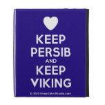 [Love heart] keep persib and keep viking  iPad Cases