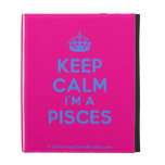 [Crown] keep calm i'm a pisces  iPad Cases