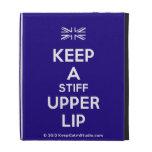 [UK Flag] keep a stiff upper lip  iPad Cases