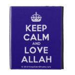 [Crown] keep calm and love allah  iPad Cases