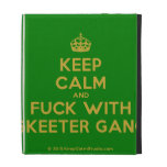 [Crown] keep calm and fuck with skeeter gang  iPad Cases