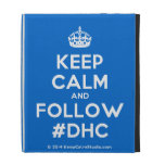 [Crown] keep calm and follow #dhc  iPad Cases