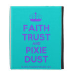 [Knitting crown] faith trust and pixie dust  iPad Cases