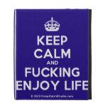[Crown] keep calm and fucking enjoy life  iPad Cases