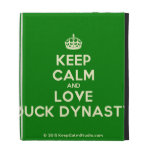 [Crown] keep calm and love duck dynasty  iPad Cases