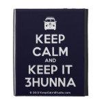 [Campervan] keep calm and keep it 3hunna  iPad Cases