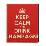 [Crown] keep calm and drink champagne  iPad Cases
