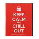 [Campervan] keep calm and chill out  iPad Cases