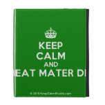 [Crown] keep calm and beat mater dei  iPad Cases